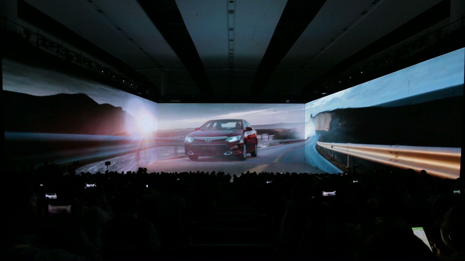 """広汽トヨタ """"New Camry Dynamic but Gentle Atlantic Road"""""""