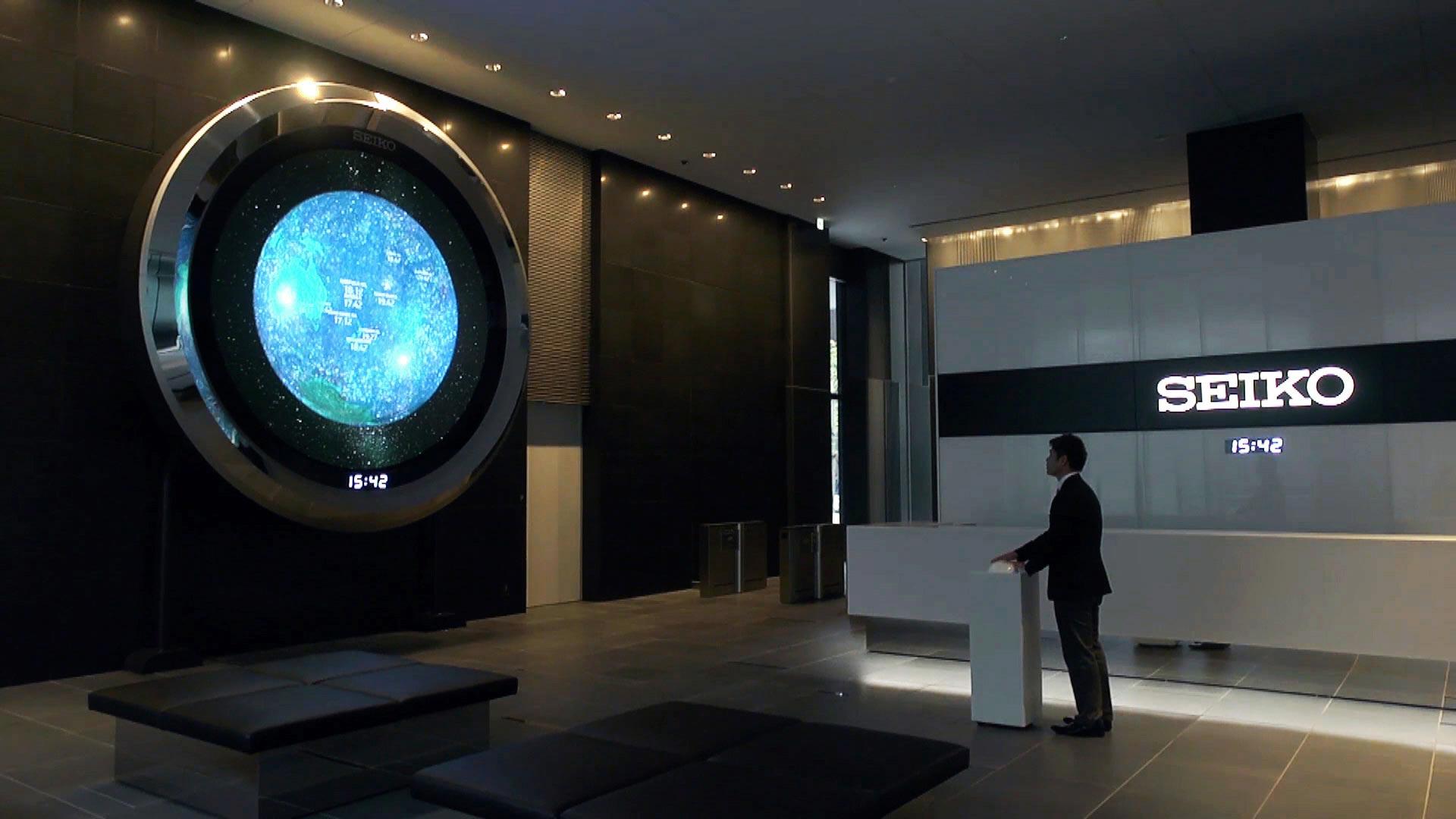 SEIKO 世界時計「Seiko Space Eye」