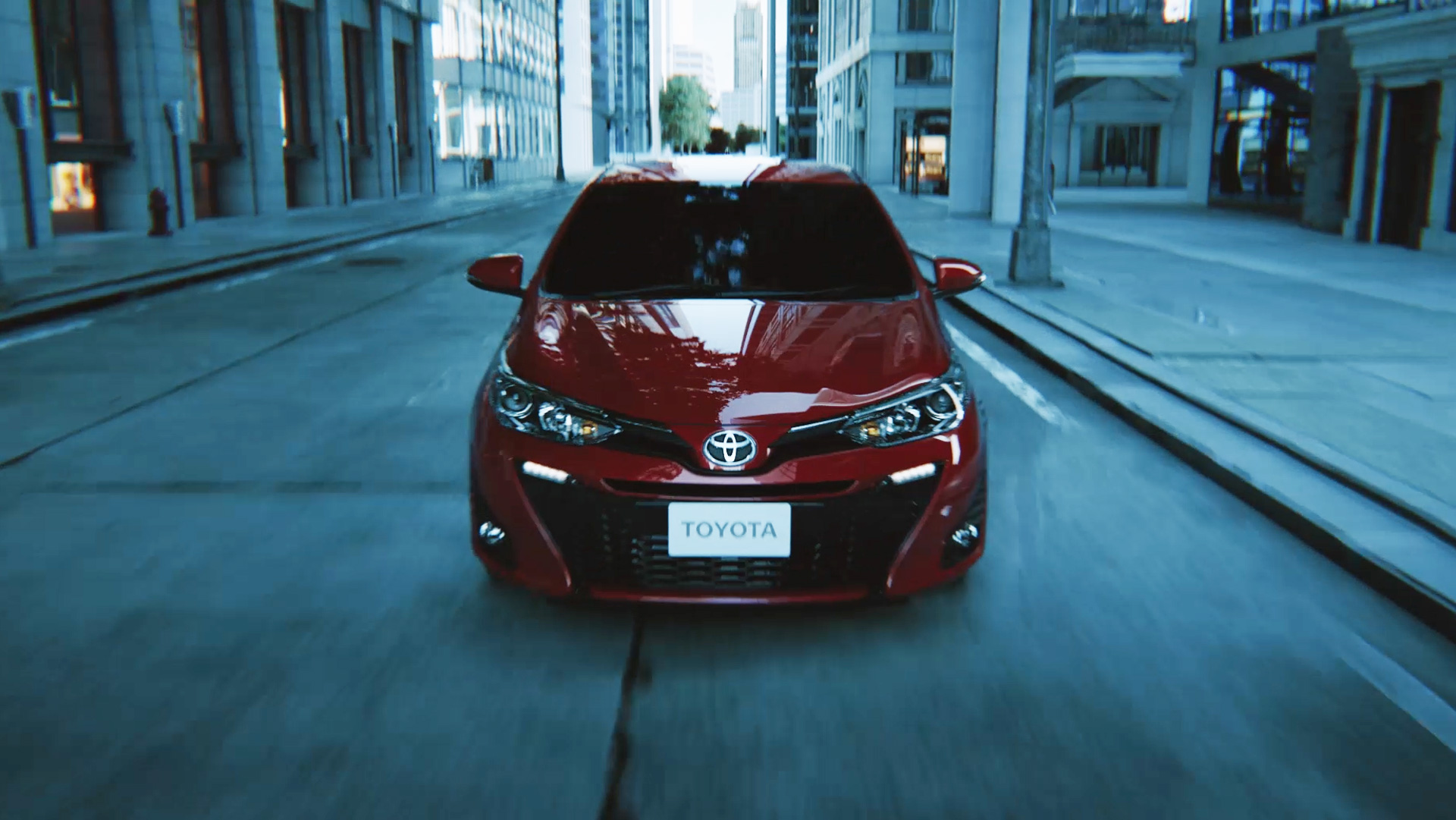 "TOYOTA Yaris Hatchback ""Expand the future possibilities"""