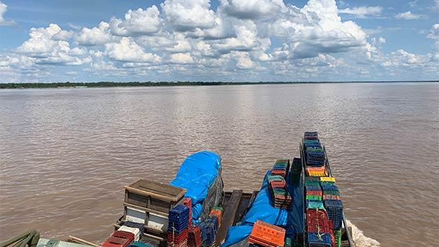 アマゾン川 夜行船ドン・ホセ号でのできごと