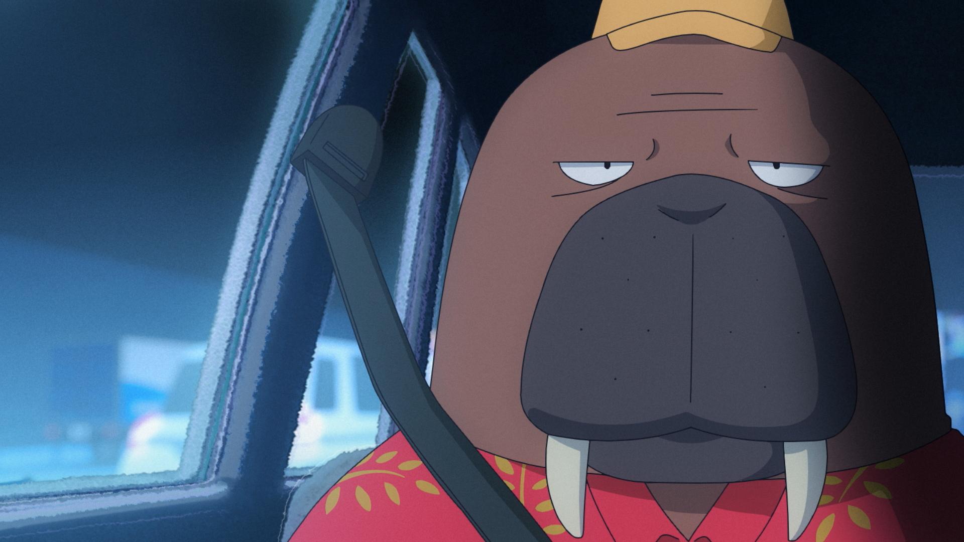 P.I.C.S.企画・制作 アニメ「オッドタクシー」が本日深夜26時05分より放送開始。